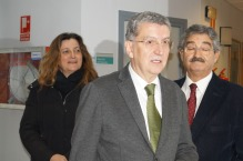 Sebastián Celaya, consejero de Sanidad.