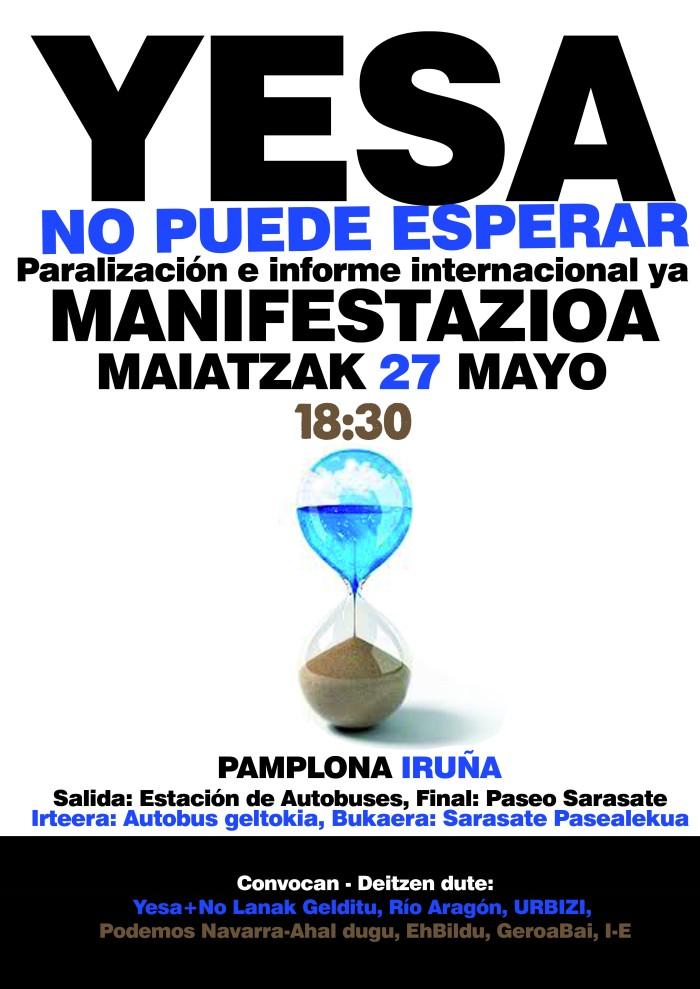 Mani Yesa mayo2017 cartel