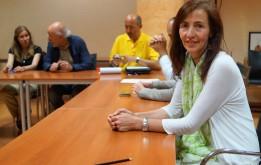 Participantes en la reunión. (FOTO: Rebeca Ruiz)