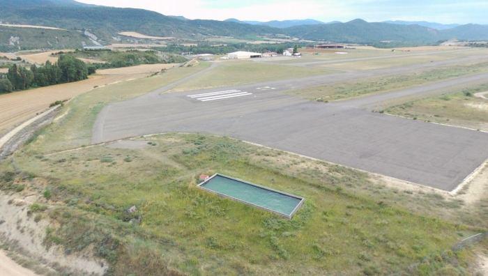 balsa aeródromo