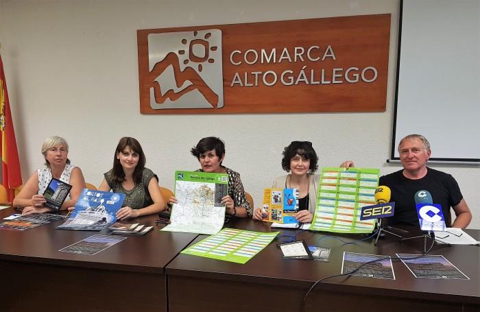 Marta Carrés, Isabel Mañero, Lourdes Arruebo, Ana Miranda y Antonio Maza.