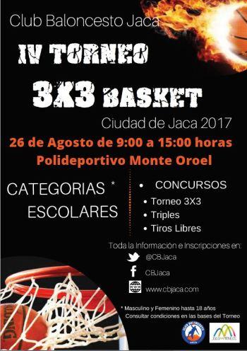IV Torneo 3x3 Ciudad de Jaca