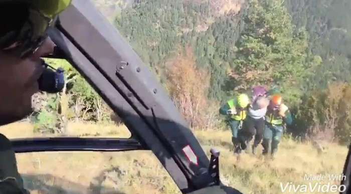 Guardia Civil. Rescate
