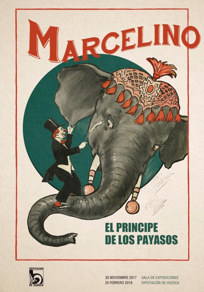 Marcelino el principe de los payasos (Cartel dela exposición)