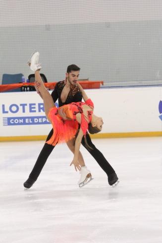 Malene Nichita-Basquin y Jaime García. (FOTO: Myriam Stokman)
